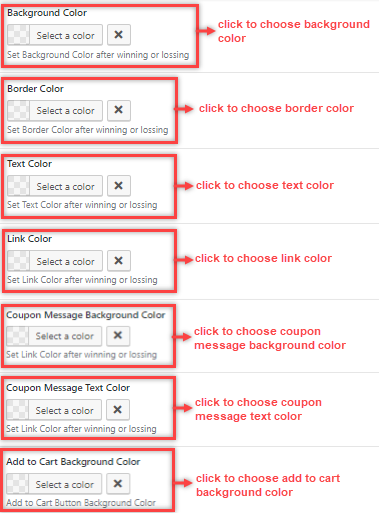 configure winning message optinspin