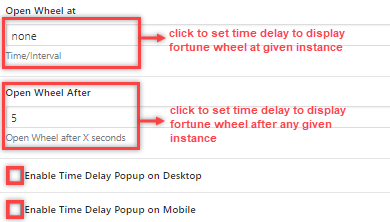 time delay optinspin